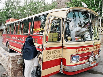 Image result for iran bus