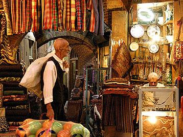 Shopping In Iran Handicrafts Persian Capers Qalamzani